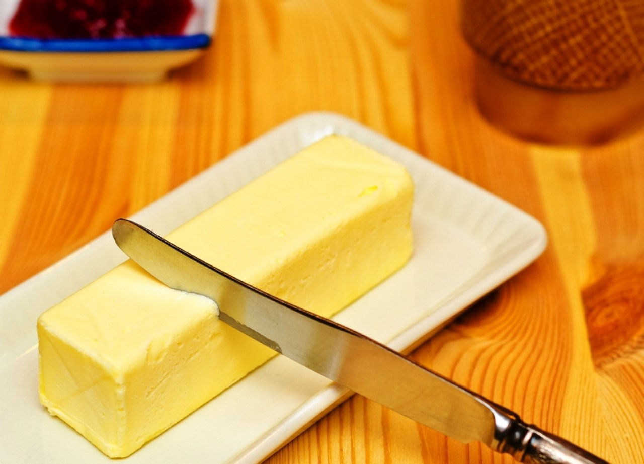 Нож для масла с круглым кончиком