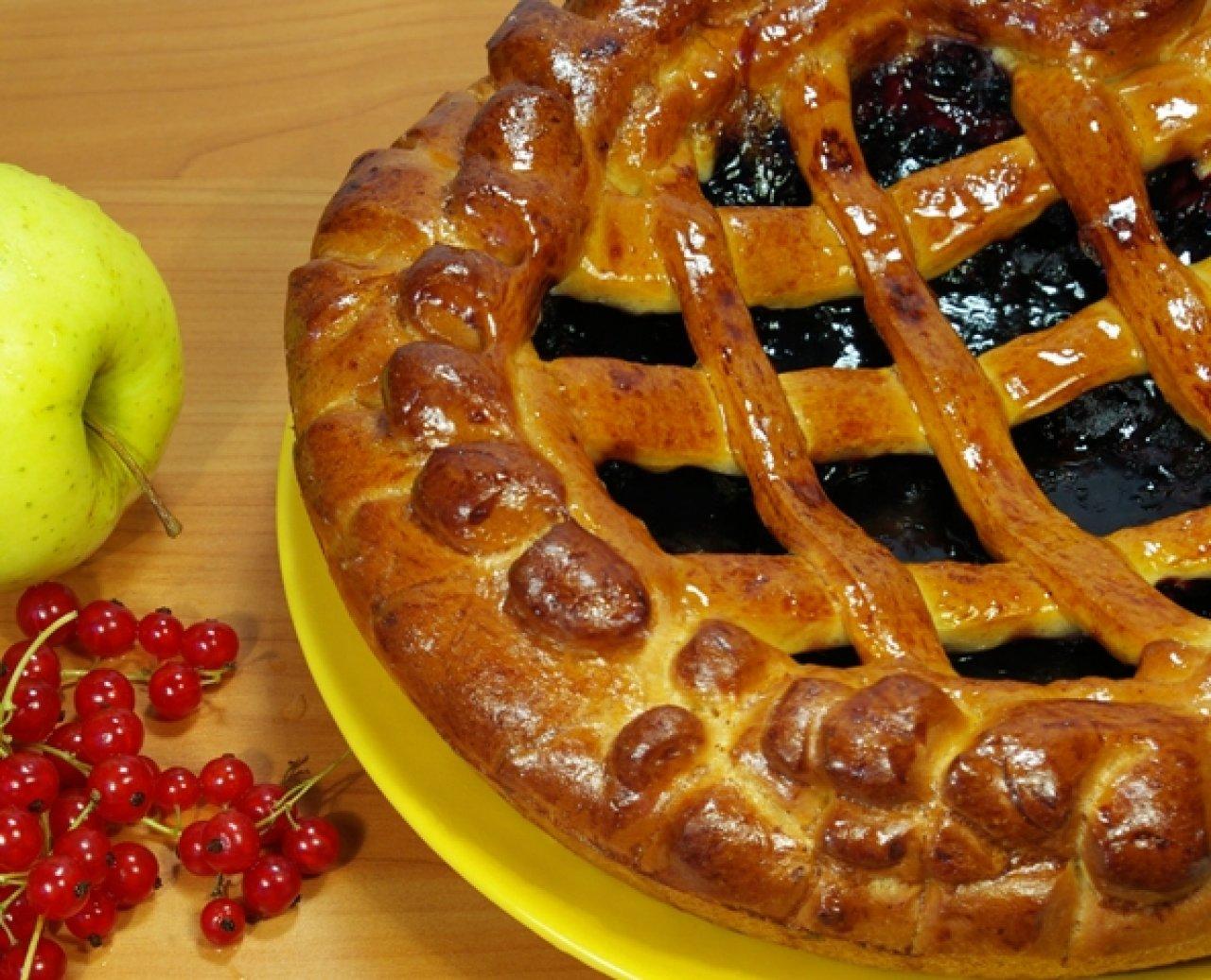 Пироги с решеткой называются полуоткрытыми