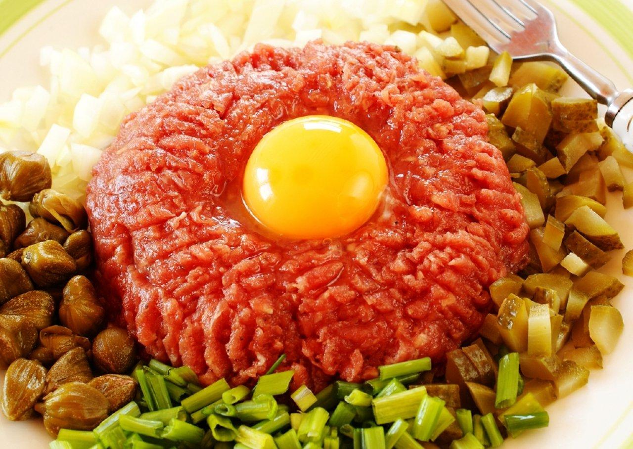 Блюдо из говядины татар